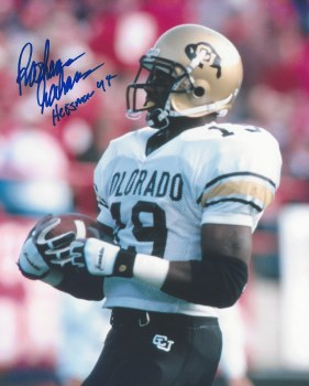 RASHAAN SALAM AUTOGRAPHED HAND SIGNED COLORADO 8X10 PHOTO