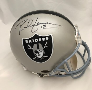 RICH GANNON AUTOGRAPHED HAND SIGNED AUTHENTIC RAIDERS HELMET