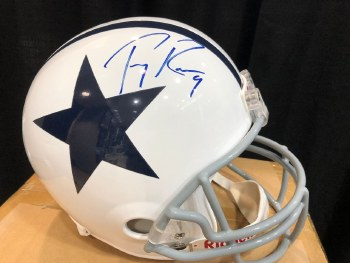 TONY ROMO - COWBOYS SIGNED FULL SIZE HELMET