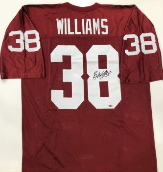 ROY WILLIAMS AUTOGRAPHED HAND SIGNED OKLAHOMA SOONERS JERSEY