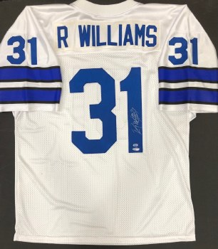 ROY WILLIAMS AUTOGRAPHED HAND SIGNED DALLAS COWBOYS JERSEY