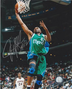 JERRY STACKHOUSE AUTOGRAPHED HAND SIGNED 8X10 PHOTO