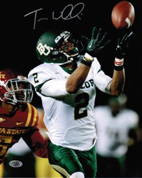 TERRANCE WILLIAMS - BAYLOR UNFRAMED SIGNED PHOTO