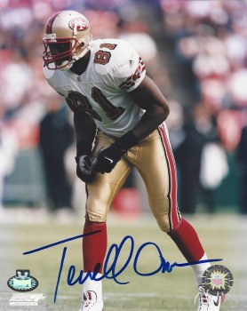 TERRELL OWENS - 49ERS