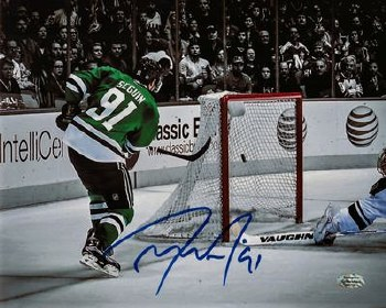TYLER SEGUIN AUTOGRAPHED HAND SIGNED DALLAS STARS 8X10 PHOTO