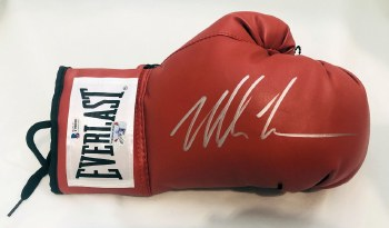 MIKE TYSON AUTOGRAPHED HAND SIGNED BOXING GLOVE