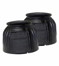 Domestic Ribbed Bell Boots w/ Velcro