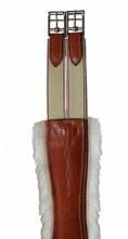 Edgewood Fancy Stitch Removeable Sheepskin Girth