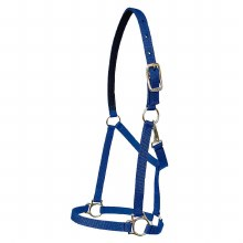 Nylon Halter with Snap 1""