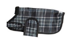 Eskadron Plaid Dog Coat
