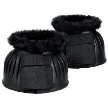 Bell Boots Ribbed with Velcro and Fleece