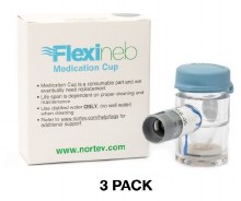 Flexineb E3 Standard Flow Medication Cup (3 Pack)