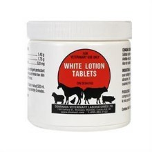 White Lotion Tablets