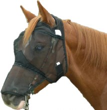 Quiet Ride Fly Mask Long Nose/ No Ears