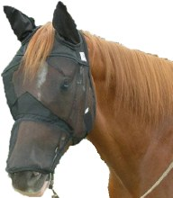 Quiet Ride Fly Mask Long Nose w/ Ears