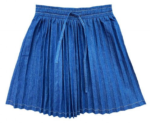 BOW FRONT SKIRT