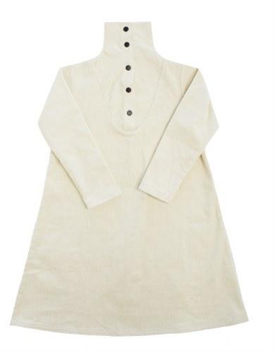 CHUNKY CORD DRESS WHT 3X