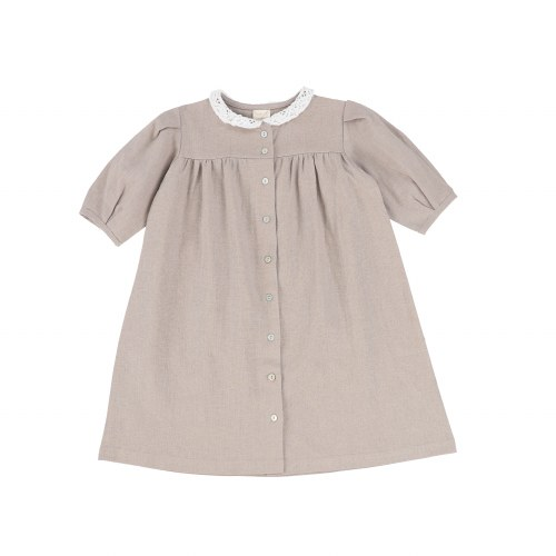 LIL LEGS LINEN DRESS TPE 3/4