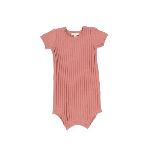 LIL LEGS WIDE RIBBED ROMPER