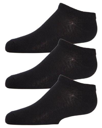 MEMOI LOW CUT SOCKS- 3 PACK