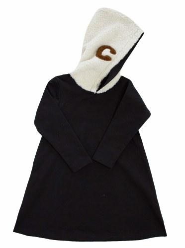 SHERPA HOODIE DRESS