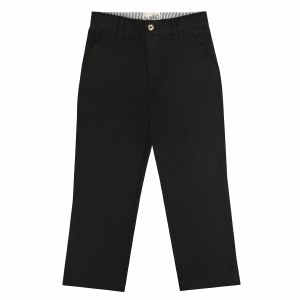ALL NAVY PANTS POLY COTTON BLK