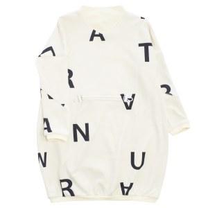 ALPHABET DRESS WI/WHT 6X