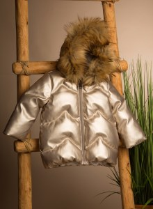 BABY WINTER JACKET GLD 24M