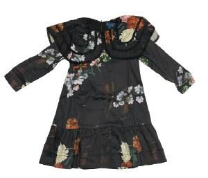 BIG COLLAR DRESS BLK 4