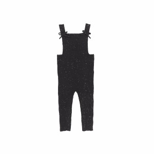 BOW OVERALLS BLK/SPE 3