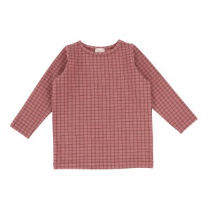 CHECKED TEE ROS 9M