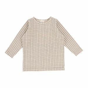 CHECKED TEE STN 9M