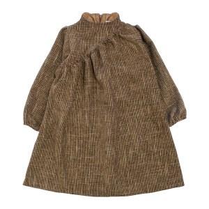 CHENILLE DRESS BRN 4