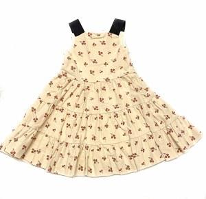 CHERRY PRINT DRESS CRM 3