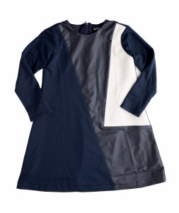 COLORBLOCK  DRESS NVY 4