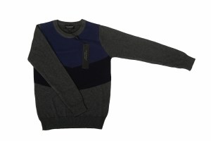 COLORBLOCK SWEATER  CHRCL 2