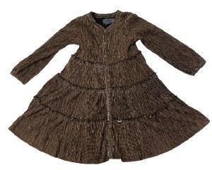 CRUSHED VELVET DRESS CGCBLK 4