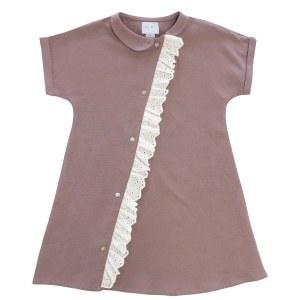 DIAGONAL PLACKET DRESS LLC 3X