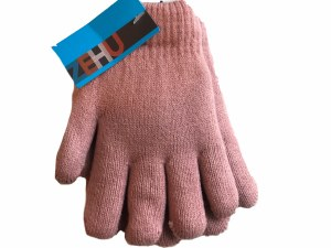 DOUBLE LAYER GLOVES  PNK S