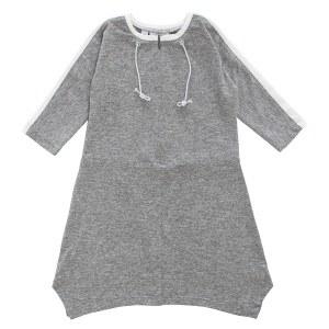 DRAWSTRING SWIM DRESS GY 8