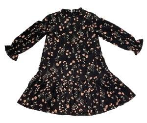 FLORAL DRESS BLK 5