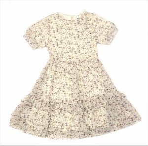FLORAL TIERED DRESS BEG 6