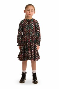 GOLD SPOTTED DRESS COL 4