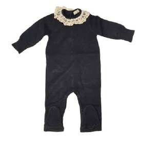 HEMLOCK BABY ONESIE BLK 9M