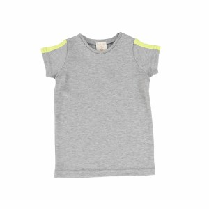 LIL LEGS LINEAT V-TEE GY/NEO 2