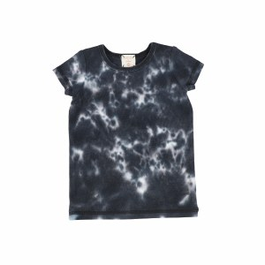 LIL LEGS WATERCOLOR TEE S/S BL