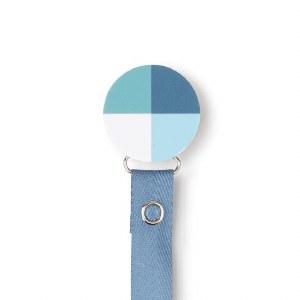 PACIFIER CLIP  HUE/BLU