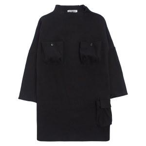 POCKET DRESS BLK 2