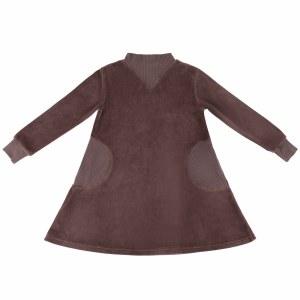 POCKET VELOUR DRESS PLM 6