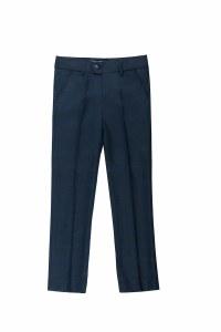 SLIM FIT DRESS PANTS  PLA/BLU